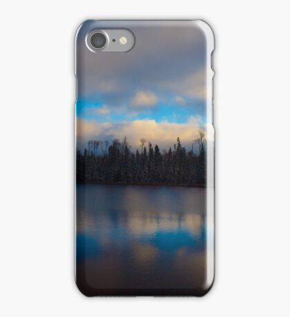 Lake in Northern Ontario iPhone Case/Skin