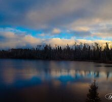Lake in Northern Ontario by elisehendrick
