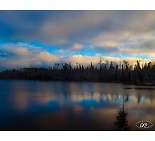 Lake in Northern Ontario Photographic Print