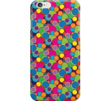 Circle Rainbow Bubble Pop Design Motif iPhone Case/Skin