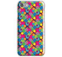 Circle Rainbow Bubble Pop Design Motif iPhone Case/Skin