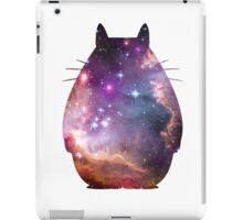 cosmic totoro iPad Case/Skin