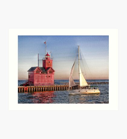 Summer Sail Art Print