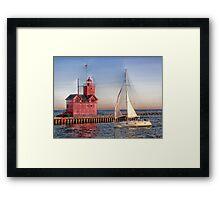 Summer Sail Framed Print