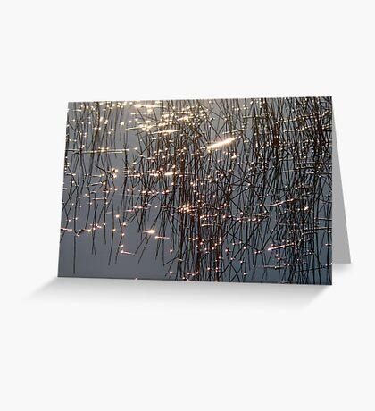 CRISS-CROSS Greeting Card