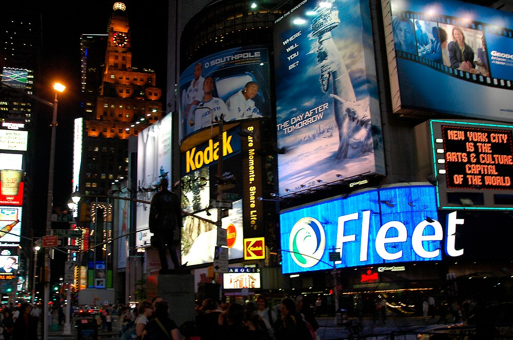 Time Square fandango by Wilson Wyatt  Photography