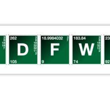IDFWU Breaking Bad Style Sticker