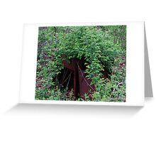 Redneck Landscaping Greeting Card