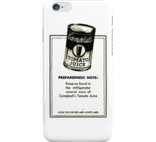 Tomato Juice iPhone Case/Skin