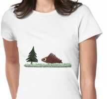 Porcupine and Lunch Womens Fitted T-Shirt