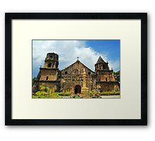 Miag-ao Church Framed Print