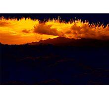 Gunung Kelatakan Photographic Print