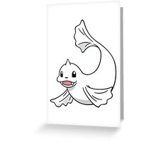 POKEMON DEWGONG Greeting Card