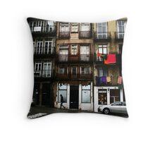 Rua do Belmonte, Porto Throw Pillow