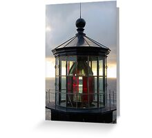 Light House at Cape Mears Greeting Card