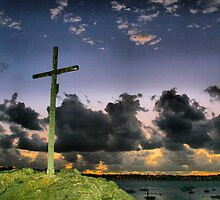SOLIDOR CROSS AT NIGHT by karo