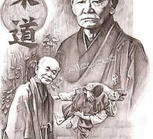 Jigoro Kano - Judo founder by Alleycatsgarden