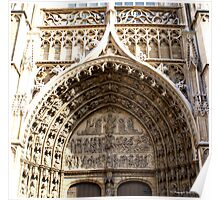 Antwerp Cathedral - Principal Entrance Porch Poster