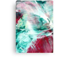 Beyond the Red Veil: Jealousy Canvas Print