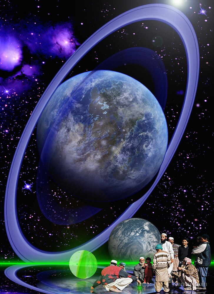 Dr. Sulaiman Omar and the Ringed World of Zia by Kenny Irwin