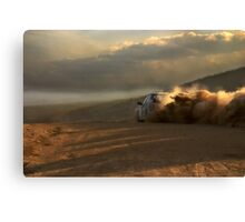 dirt, dust and speed Canvas Print