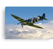 Spitfire T.9 MJ627/9G-P G-BSMB departing Canvas Print