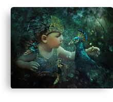 Guardian of the Forest: 100 Eyes Canvas Print