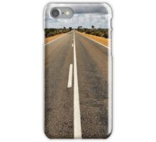 Great eastern highway at Southern Cross iPhone Case/Skin
