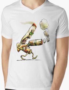 Cigarettes Can Kill - T Mens V-Neck T-Shirt
