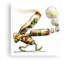 Cigarettes Can Kill Canvas Print