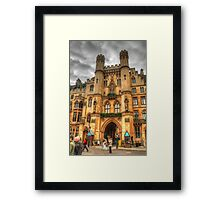 Westminster Abbey .. A Different Angle Framed Print