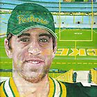 Aaron at Lambeau by yevad98