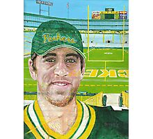 Aaron at Lambeau Photographic Print