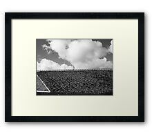 graphico freeway Framed Print
