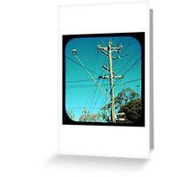 Kookaburra Street Greeting Card