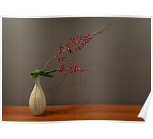 Ikebana Simplified arrangement Poster