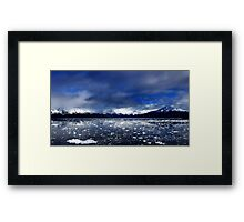 Mirrors of Ice Framed Print
