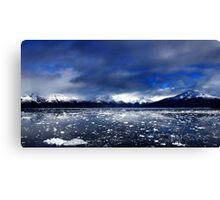 Mirrors of Ice Canvas Print