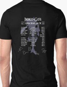 The Indigo-Go's Tour - Signed! Unisex T-Shirt