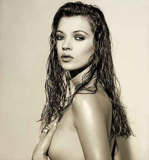 KATE MOSS by Vic Singh