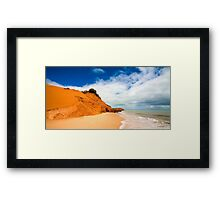 Cape Peron Framed Print