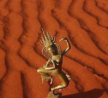 Desert Apsara by Inishiata