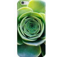 Green houseleek     iPhone Case/Skin