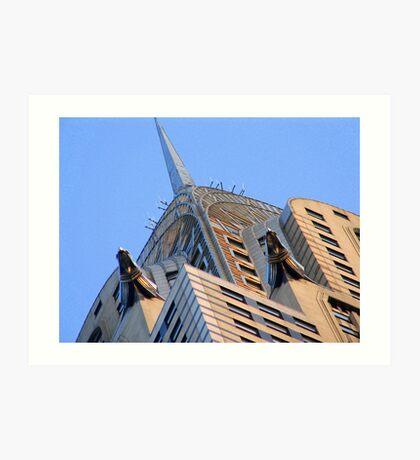 Under the Chrysler Building Art Print