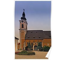 The village church of Scharten III   architectural photography Poster