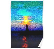 Lady Liberty Mosaic Poster