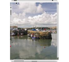 Custom House Quay and Falmouth Harbour iPad Case/Skin
