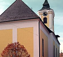 The village church of Putzleinsdorf I   architectural photography by Patrick Jobst