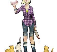 Crazy Cat Lady  by mingmonger