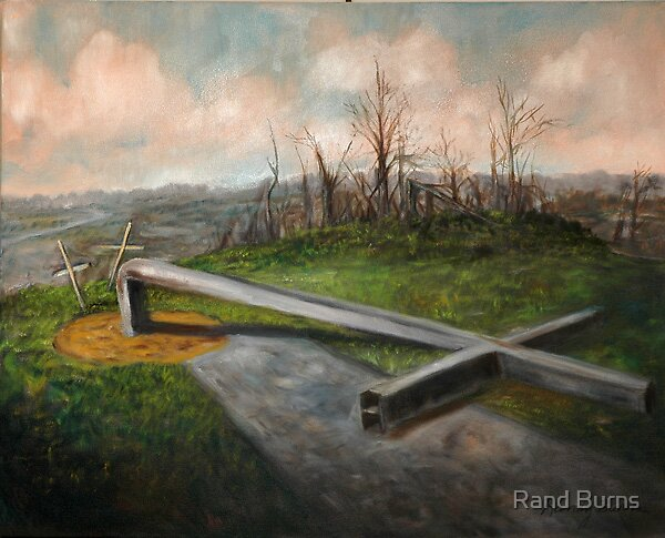 Bent Cross (tornado damage) by Randy Burns aka Wiles Henly